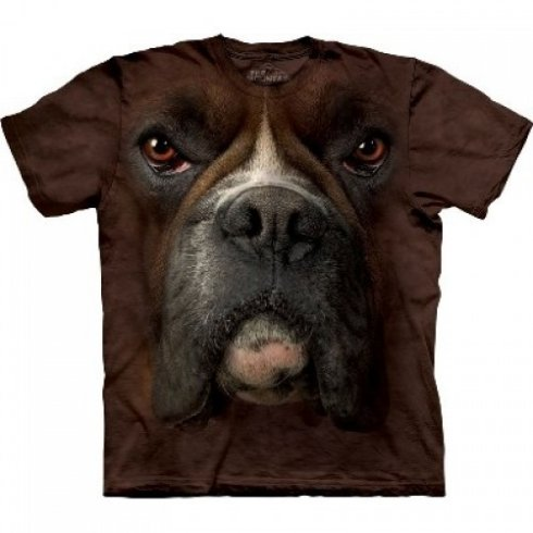Animal face t-shirt - Boxer