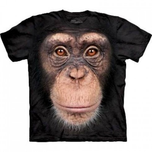 Animal faccia t-shirt - Chimpanzee