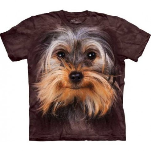 Animal twarz t-shirt - Yorkshire