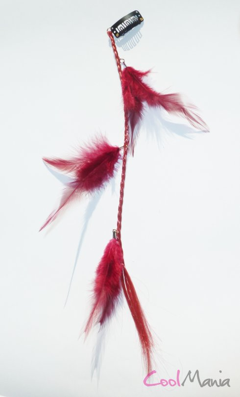 Estensione dei capelli Feather - Trendy
