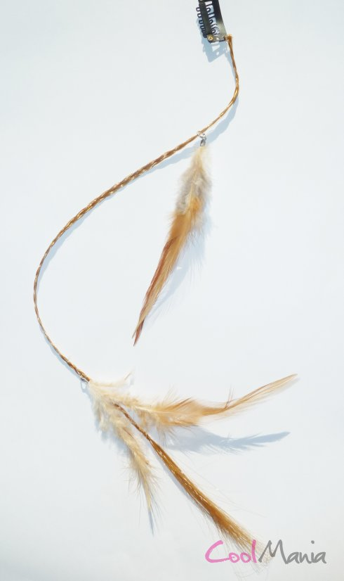 Feather hair extension – Pheasant feathers
