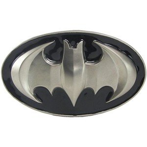 Batman silver - belt buckle