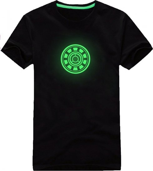Glow in the dark T-shirts - Ironman