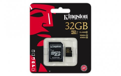 Micro sd 32gb class 10 Kingston