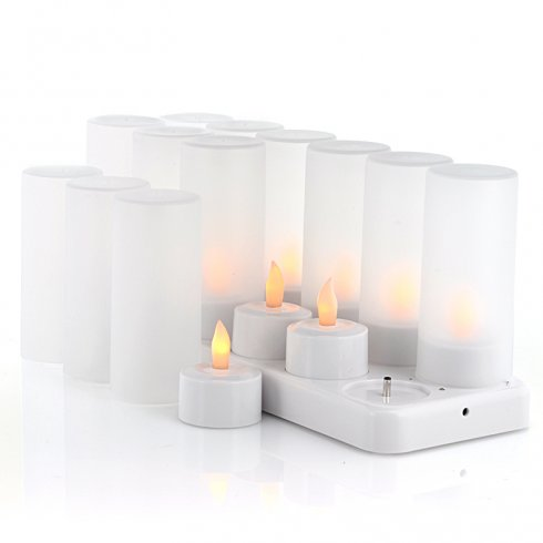Velas LED recargable