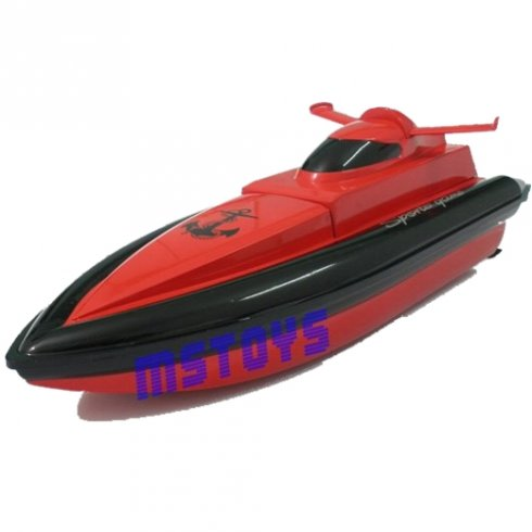 RC Boats - HY 800 Red Patrol