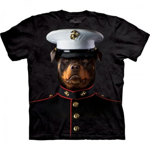 3D animal shirt - Marine sergeant