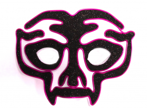 Halloween Mask Avenger - Purple