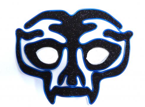 Неонова маска Avenger - синя