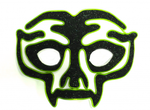Party mask Avenger - Green