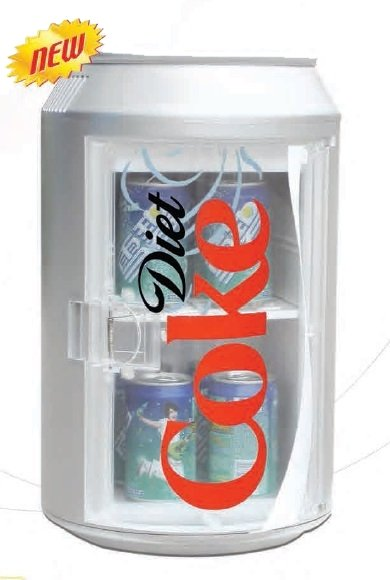 缶の形をしたミニクーラー - 10L / 12缶