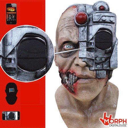 Morf masky - cyborg