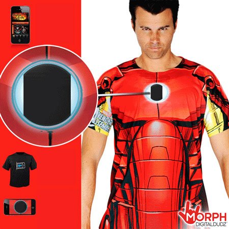 Morph shirt - traje de Iron Man