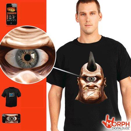 Divertente Morph t-shirt - Cyclops
