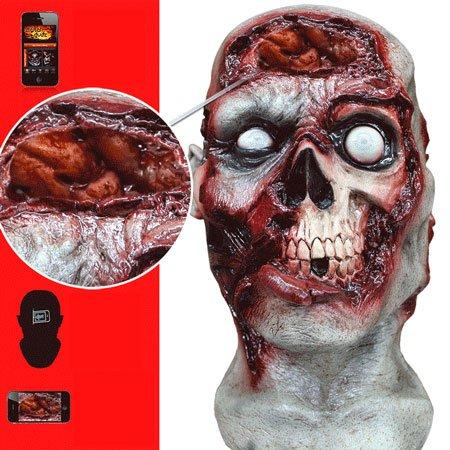Máscaras de Halloween - Zombie