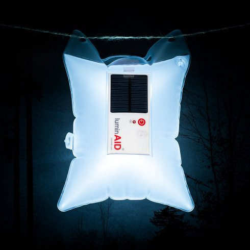 LuminAID air bag light