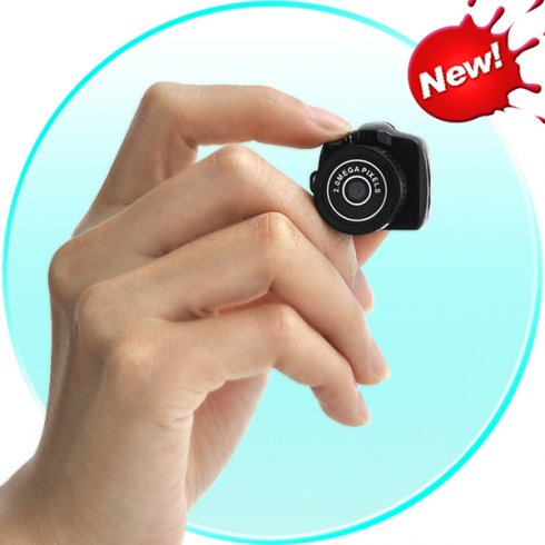 The smallest camera in the world