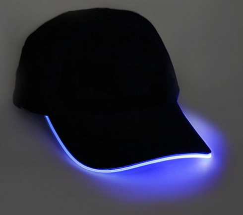 LED cap - blue
