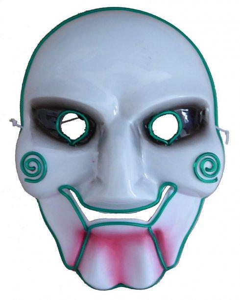 SAW-Maske beleuchtet - Grün