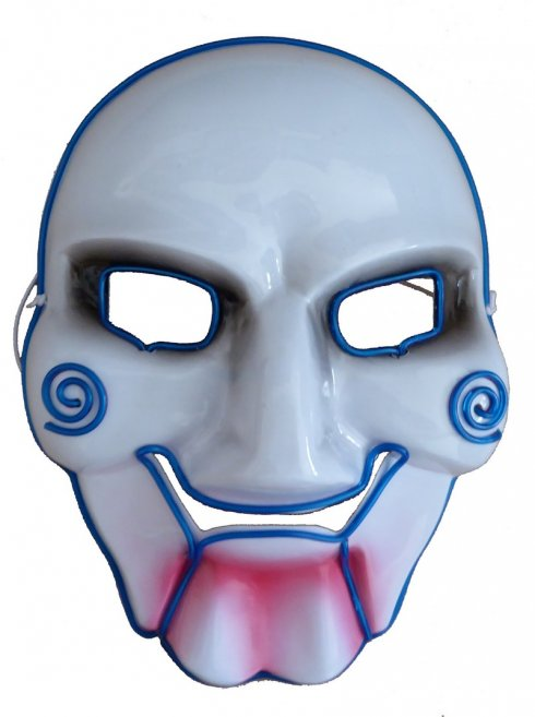 Neon Mask SAW - Blue