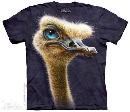 Eco T-shirt - Autruche