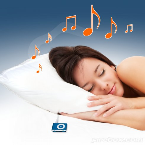 Music pillow playing MP3