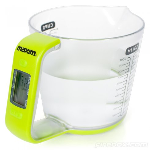 Maxim 2 v 1 - measuring jug with digital scale