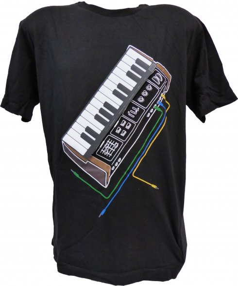 Electronic Piano - playing tshirt