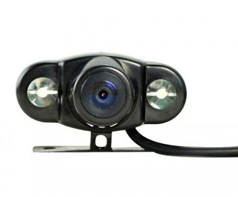 Reverse cameras P16  120 ° + 2x LED high luminosity