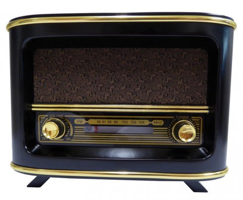 Mini Radio antique design - AM / FM