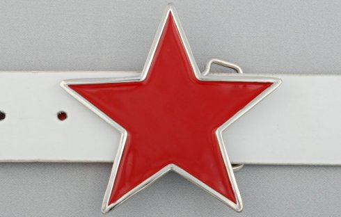 Belt buckle - Star