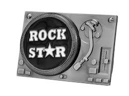 Rock Star - buckle