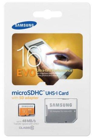 Mikro SD 16GB Samsung
