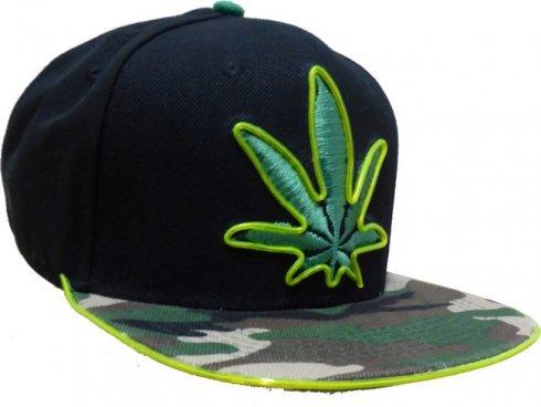 Neon cap - Marijuana