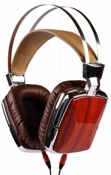 PC wooden headphones Esmooth ES-661RS
