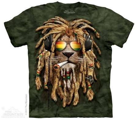 Mountain T-shirt - Smokin Jahman