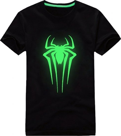 Camisas de neón - Spiderman