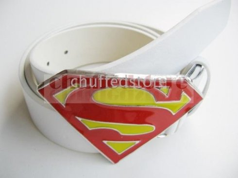 Superman logo - buckle