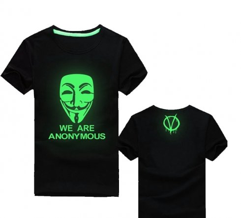 Fluorescent T-shirts - Anonymous