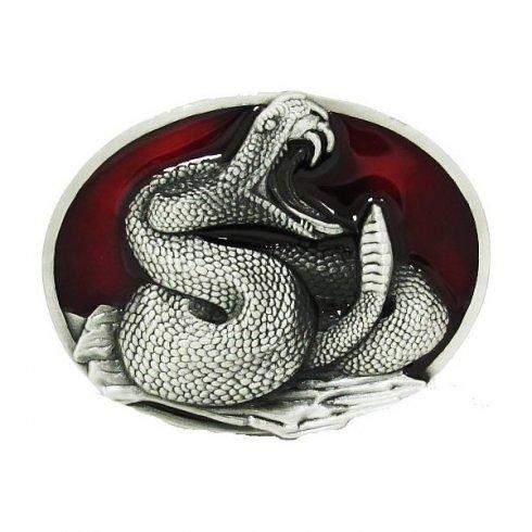 Змея - пряжка на пояс