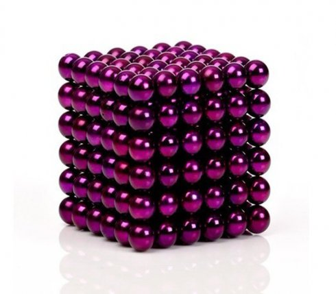Kulki magnetyczne - 5mm fioletowy
