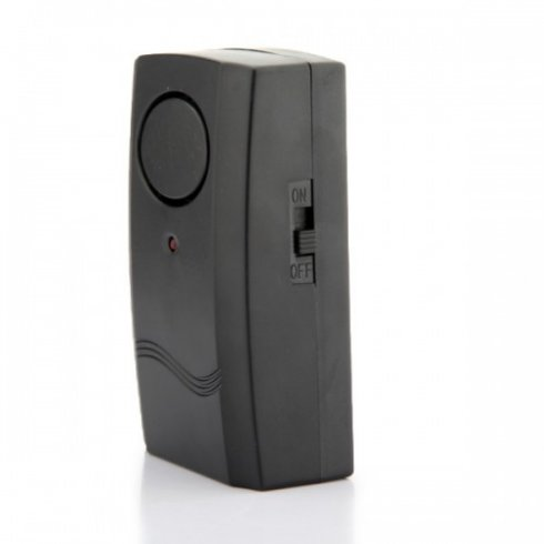 Alarm captures sound vibration with the power to 120 db