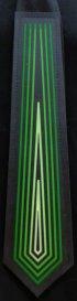 Krawat Equalizer - Zielony