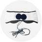 Eye mask sleep with built-in headphones - Sleep monitoring
