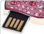 USB dragulj Srce s pink diamanti
