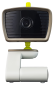 Baby monitor with camera and LCD + IR LED and two-way communication
