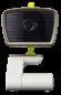 Babyphone avec caméra et LCD + LED IR et communication bidirectionnelle