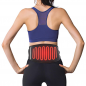 Graphene heating belt for back and belly