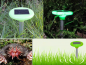 Solar mole repeller + LED decorative lamp into the garden