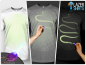 Laserska majica - Narišite svoj motiv